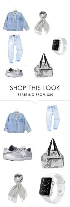 """""""Preppy Style of Leisure"""" by chloe1013 ❤ liked on Polyvore featuring New Balance Classics, adidas, MaxMara and Apple"""