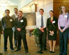 Mines faculty and students attended the 2016 American Council of Engineering Companies of Colorado Engineering Excellence Awards #MindsofMines