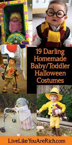 19 Darling Homemade Baby/Toddler Halloween Costumes
