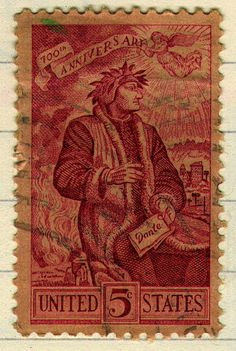 700 years of Dante honored by the United States.