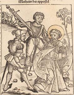Nuremberg Chronicle Woodcuts, 1480s, Michael Wolgemut workshop