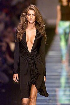 Versace Spring 2000 Ready-to-Wear Fashion Show - Gisele Bündchen, Donatella Versace