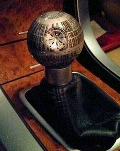 That's No Moon, It's a Death Star Gear Shift!