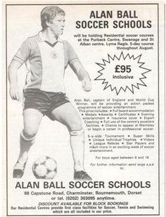 Alan Ball Soccer School www.theevertonforum.com Laws Of The Game, Sir Alex Ferguson, Association Football, Most Popular Sports, 80s Kids, Fifa, Coaching, Soccer, Futbol