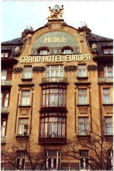 Prague hotel Europa #WithHeartInPrague