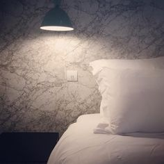 Spaces That Will Make You Fall In Love With Marble Wallpaper. Marble Wallpaper Inspiration is a part of our furniture design inspiration series. Ferm Living Wallpaper, Muuto, Inspirational Wallpapers, Marie, Furniture Design, Design Inspiration, Bedroom, Interior, Architects