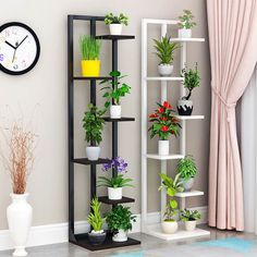 Online Shop New NICE Beautiful Standing flower shelf .Living room & balcony Plant shelf . flower pot stands with wood plant | Aliexpress Mobile