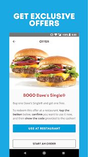 Wendy's – Food and Offers- screenshot thumbnail