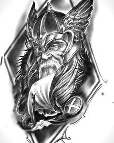 Идеи татуировок Hai Tattoos, Tatuajes Tattoos, Bild Tattoos, Body Art Tattoos, Tattoos For Guys, Viking Tattoo Sleeve, Norse Tattoo, Celtic Tattoos, Sleeve Tattoos