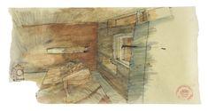 Walmer Yard,Sketch