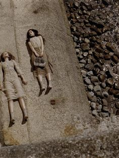 lavandula:  ann kenny and frida gustavsson by juergen teller for marc jacobs