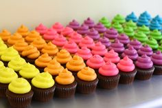 Neon cupcakes — Eat Cake Be Merry - Custom Cakes For Merry Occassions Neon Cupcakes, Cupcake Party, Birthday Cupcakes, Neon Birthday Cakes, Dance Party Birthday, Birthday Party For Teens, Teen Birthday, Glow In Dark Party, Glow Party