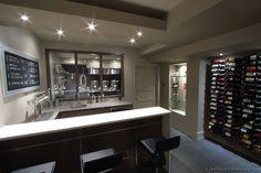 Kal's basement Brewery/Bar/Home Theatre build 2.0