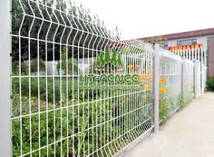 is a type of welded wire mesh which has V-shaped strengthen bending curves. It is made of high quality low carbon steel wire, galvanized wire. Welded Wire Panels, Palisade Fence, Mesh Fencing, Steel Fence, Chain Link Fence, Horizontal Fence, Low Carbon, Fence Panels, Wire Mesh