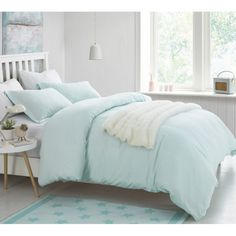Hint of Mint Supersoft College Bedding - Twin XL Duvet Cover - Hint of Mint Supersoft College Bedding – Twin XL Duvet Cover - College Bedding Sets, Dorm Bedding Sets, Twin Xl Bedding, Best Bedding Sets, Luxury Bedding Sets, Comforter Sets, Mint Bedding, Queen Bedding, King Comforter