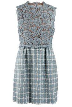 Valentino Dress. What a pretty colour!