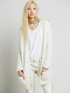 Free People Marshmallow Cardigan at Free People Clothing Boutique