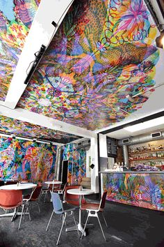 Carnovsky    RGB Murals that Transform under Different Colored Lights