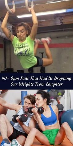 Sometimes it seems like it doesn't matter which gym you're in, there's always the same kind of people. #40+ #GymFails #Weights #Laughter