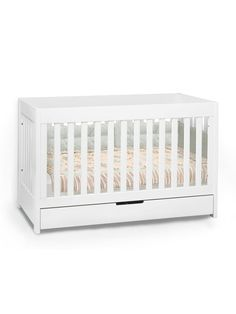 Babyletto Cribs - Mercer 3-in-1 Convertible Crib with Toddler Rail