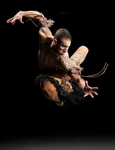 "EricGarcia Lopez in ""Of Bodies of Elements"", from the Dancing Earth - Photography by Kate Russell"