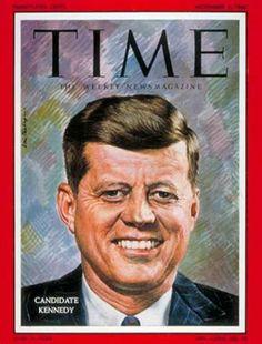 John Kennedy - Time Magazine [United States] (7 November 1960)