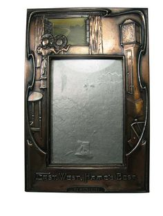 1900 Scottish Arts & Crafts copper frame - lyonandturnbull