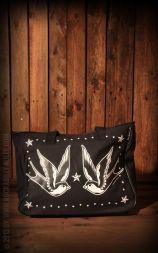 Handbag Swallows and Nautical Stars