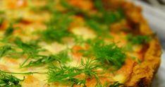Tein tässä jokin aika sitten vieraille kahvipöytään suolaiseksi tällaisen katkarapupiirakan, johon tein taas erilaisen pohjataikinan. Tä... Seaweed Salad, Ethnic Recipes, Food, Essen, Meals, Yemek, Eten