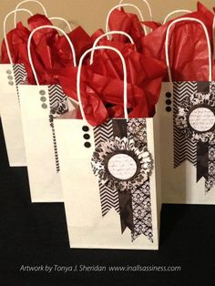 CTMH For Always papers.  Gift bags could be workshop idea