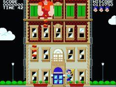 Niceland #fixitfelixjr #wreckitralph #videogames #niceland #arcade #movie #8bit #atari #nintendo #nes #ralph #felix #gene #broken #imgonnawreckit #windows #glitch #disney