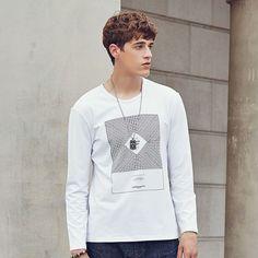 T Shirts Fashion 2016 Brand-Clothing Long Sleeve T-Shirt male Fitness
