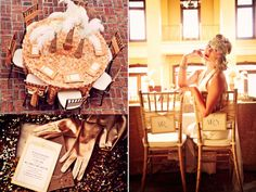 Great Gatsby Wedding Theme Bridal Style Reception Decor...I want to do this