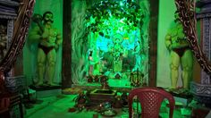 Decorations and presentations at the main bazaar roadsides of Dhenkanal during Lakshmi puja this year[2016].