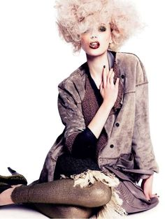 The Bon International Summer 2010 'September Sang' Looks are Crazy Cool #hairstyles trendhunter.com