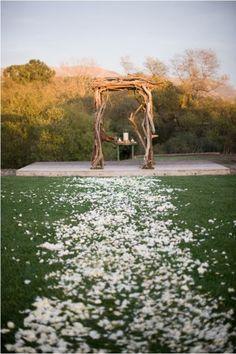fairy country wedding