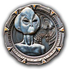 STARGATE GEOCOIN - THOR - I love Stargate!!!