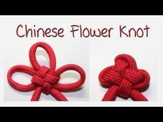 Tutorial: Chinese Flower Knot (3 Petal Version)