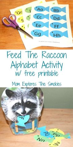 The is a fun letter recognition learning activity for preschoolers. It helps kids learn how to identify letters.