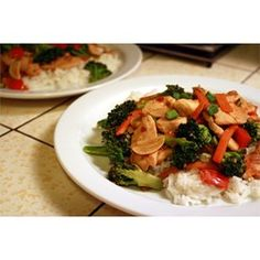 Sweet and Spicy Stir Fry with Chicken and Broccoli - Allrecipes.com