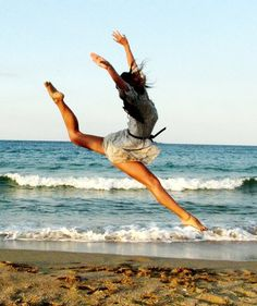 """Eternity begins and ends with the ocean's tides."" #dancing on the beach:) --Unknown"