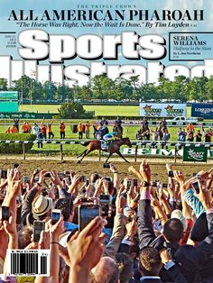 """YES!!!!!! """"@SInow: On this week's SI cover, American Pharoah rides into history http://on.si.com/1HZjdog """""""