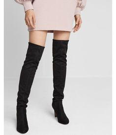 SUPER affordable over the knee boots from Express! // http://rstyle.me/~admEo