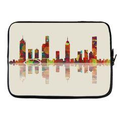Melbourne Skyline #2 Laptop Sleeve