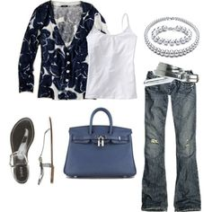 i'm pretty sure this is what i wear most days: cardigan and jeans. also, love the bag.