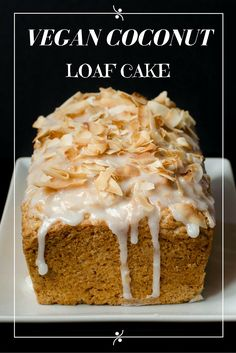 Vegan Coconut Loaf Cake