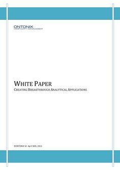 ontonix-white-paper-may-2013-21347816 by Alexander Kopriwa via Slideshare