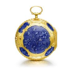 A fine gold and enamel Verge Watch by Julien Le Roy, Paris, France, ca. 1770, via Sotheby's. https://musetouch.org/