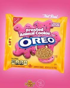 Weird Oreo Flavors, Pop Tart Flavors, Cookie Flavors, Cute Food, Yummy Food, Oreos, Candy Theme Birthday Party, Disney Coffee Mugs, Junk Food Snacks
