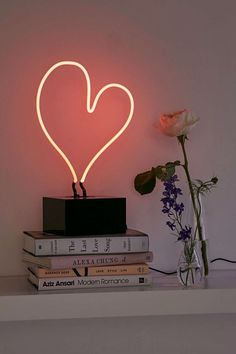 Neon heart. @thecoveteur